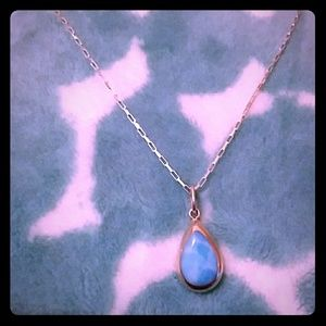 Must Bundle☆Turquoise Medalion+Link Chain Necklace